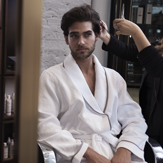 Mens Haircut and Styling Services at Rescue Spa