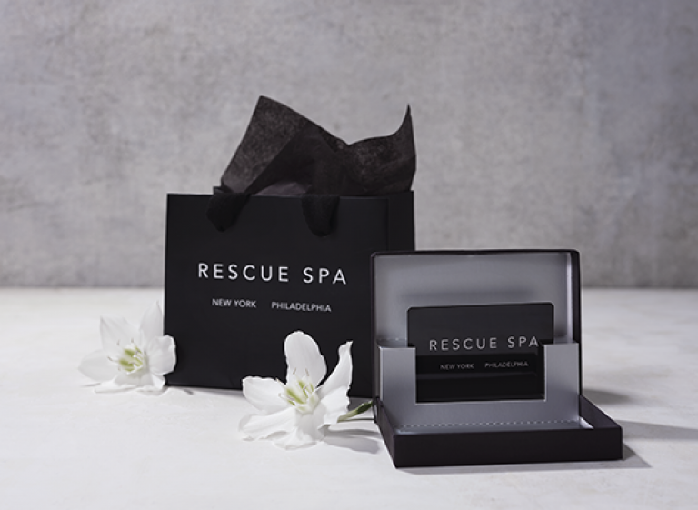Gift Certificate Rescue Spa